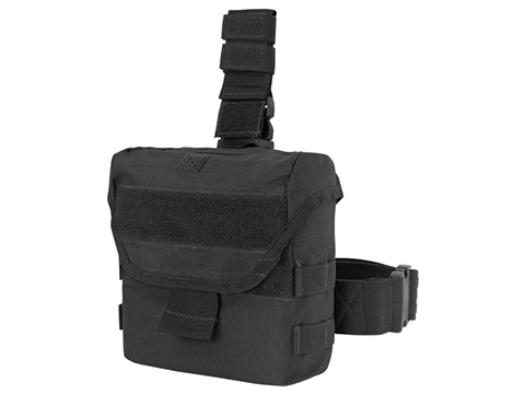 Condor Drop Leg Dump Pouch (Color: Black)