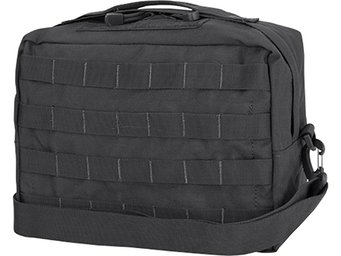Condor MOLLE Large Utility Shoulder Bag (Color: Black)