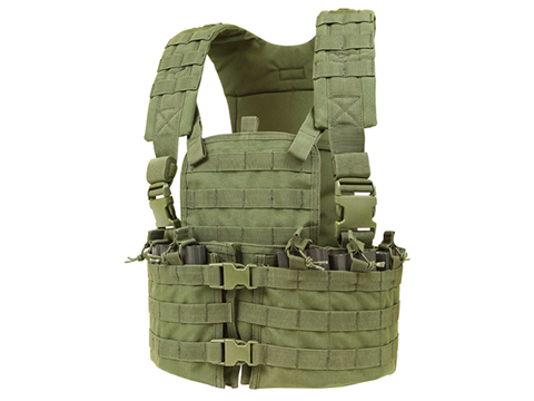 Condor Modular Chest Platform Vest (Color: OD Green)