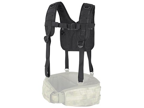 Condor MOLLE H-Harness (Color: Black)