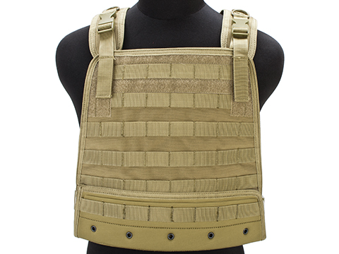 Condor Compact Plate Carrier (Color: Tan)