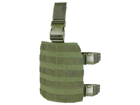 Condor MOLLE Drop Leg Panel (Color: OD Green)