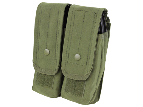 Condor Tactical Double AK47 / 7.62 Magazine Pouch (Color: OD Green)