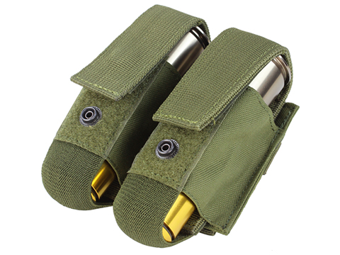 Condor Tactical Double 40mm Grenade Pouch (Color: OD Green)