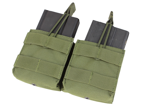 Condor Double M14 Open Top Magazine Pouch (Color: OD Green)