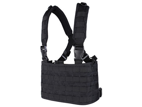 Condor Gen.4 Tactical MOLLE OPS Chest Rig (Color: Black)