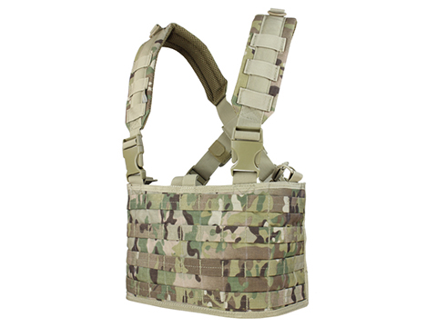 Condor Gen.4 Tactical MOLLE OPS Chest Rig (Color: Multicam)