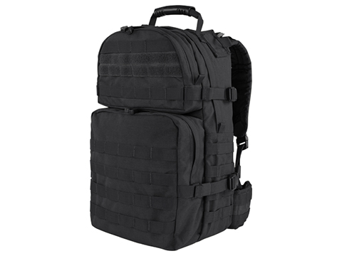Condor Medium Assault Pack Backpack (Color: Black)