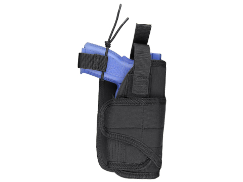 Condor Horizontal MOLLE Ready Holster (Color: Black)