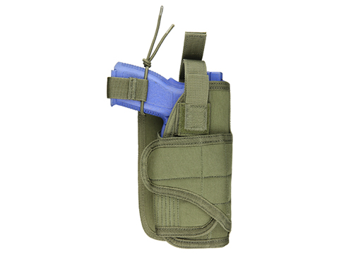 Condor Horizontal MOLLE Ready Holster (Color: OD Green)