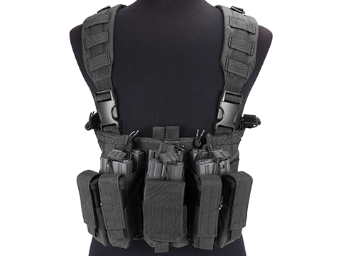 Condor Gen 5 Tactical MOLLE Recon Chest Rig (Color: Black)