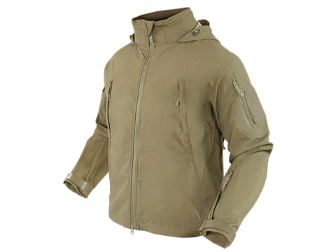 Condor Summit Zero Lightweight Soft Shell Jacket - (Color: Tan / Small)