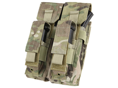 Condor Double AK Kangaroo Magazine Pouch (Color: Multicam)