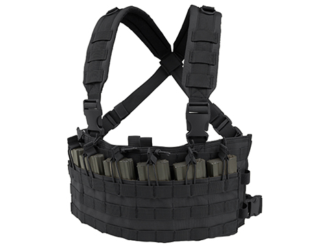 Condor Rapid Assault Chest Rig (Color: Black)
