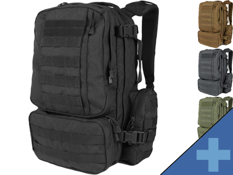 Condor Convoy Tactical Outdoor Pack (Color: Black)