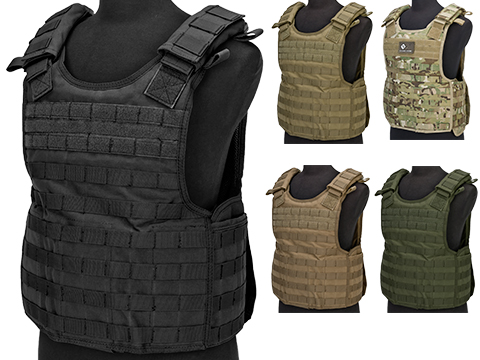 Condor Defender Plate Carrier (Color: Black)
