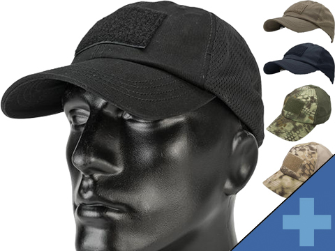 Condor TCM Tactical Mesh Cap (Color: Black)