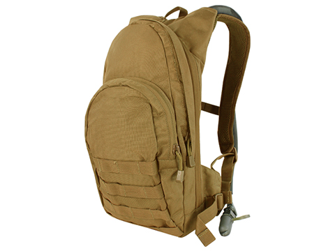 Condor Military Style Hydration Backpack w/ Molle (Color: Coyote)
