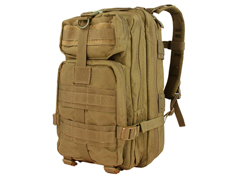 Condor Compact Assault Pack w/ Hydration Compartment (Color: Coyote Brown)