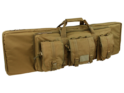 Condor 42 Tactical Padded Double Rifle Bag (Color: Coyote)
