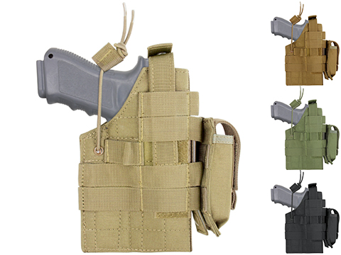 Condor Ambidextrous Holster for Glock Series Pistols (Color: Coyote Brown)