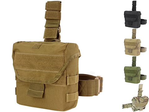 Condor Drop Leg Dump Pouch (Color: Coyote Brown)