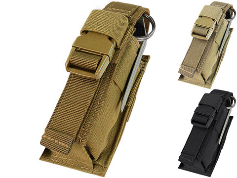 Condor Tactical Single Flashbang / Large Grenade Pouch (Color: Coyote Brown)