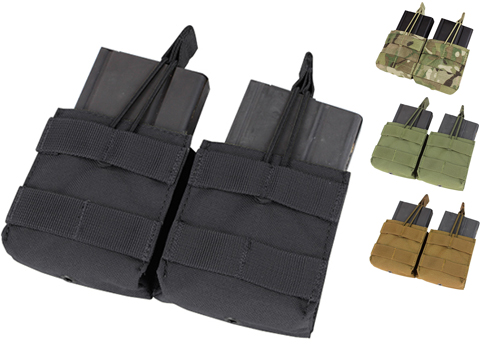 Condor Double M14 Open Top Magazine Pouch (Color: Coyote)