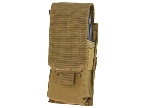 Condor Single M4 Magazine Pouch (Color: Coyote Brown)