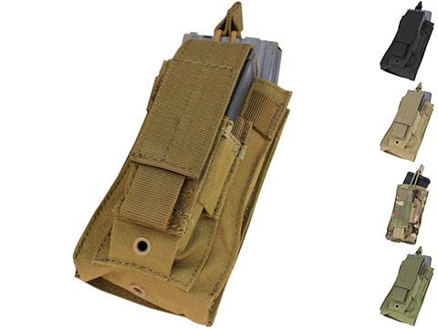 Condor MOLLE Kangaroo M16/M4 Magazine and Pistol Magazine Pouch (Color: Coyote)