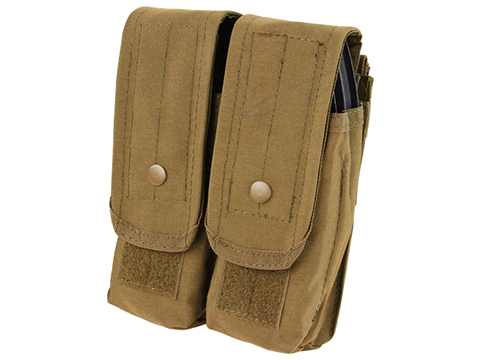 Condor Tactical Double AK47 / 7.62 Magazine Pouch (Color: Coyote Brown)