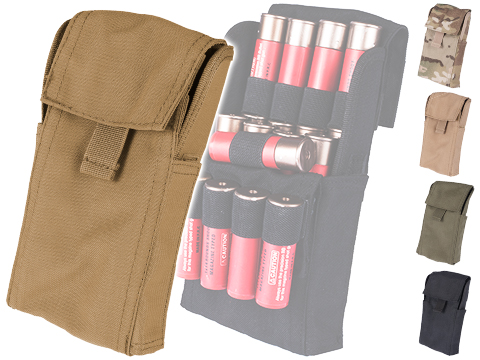 Condor Tactical Shotgun Reload Shot Shell Carrier / Pouch (Color: Coyote Brown)