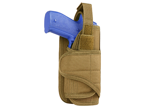 Condor Vertical MOLLE Ready Holster (Color: Coyote)