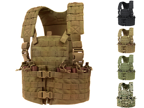 Condor Modular Chest Platform Vest (Color: Coyote Brown)