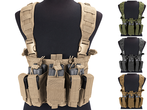 Condor Gen 5 Tactical MOLLE Recon Chest Rig (Color: Coyote)