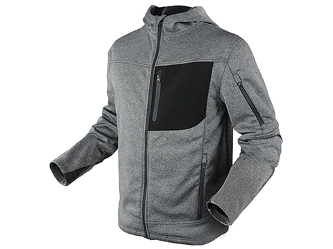 Condor Outdoor Cirrus Technical Fleece Jacket (Color: Grey / Large)