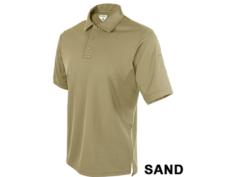 Condor Performance Tactical Polo  (Color: Sand / Large)