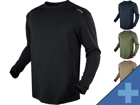 Condor Maxfort Long Sleeve Training Top (Color: Olive Drab / Large)