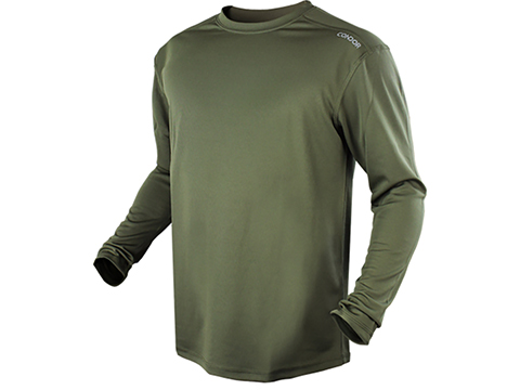 Condor Maxfort Long Sleeve Training Top (Color: Olive Drab / Small)