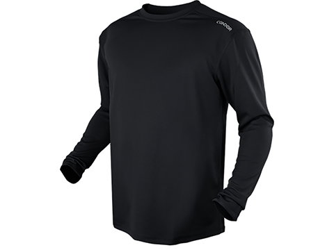 Condor Maxfort Long Sleeve Training Top (Color: Black / Large)