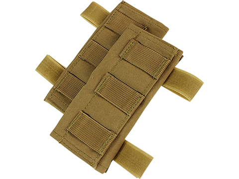 Condor Replacement Shoulder Pads for Condor Plate Carriers (Color: Coyote Brown)