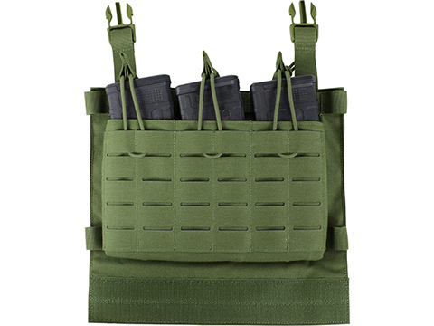Condor LCS VAS Triple Magazine Panel for Vanquish Plate Carriers (Color: Olive Drab)