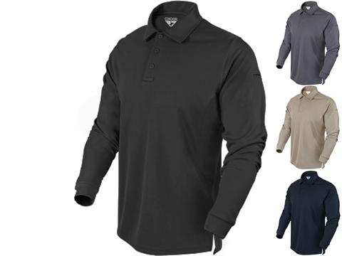 Condor Performance Tactical Long Sleeve Polo