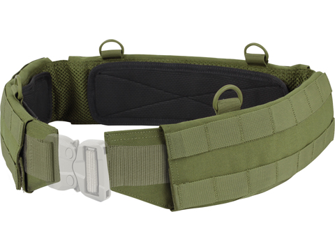 Condor Slim Battle Belt (Color: OD Green / Small)