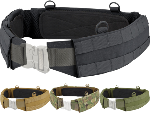 Condor Slim Battle Belt (Color: Black / Large)