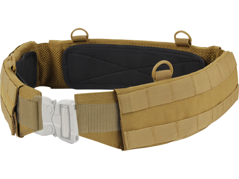 Condor Slim Battle Belt (Color: Coyote Brown / Small)