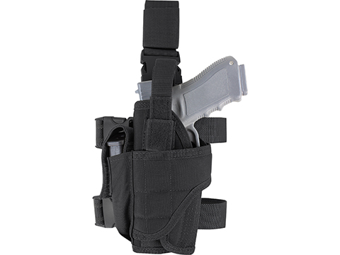 Condor Tornado Universal Tactical Thigh / Drop Leg Holster (Color: Black / Left)