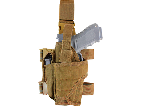 Condor Tornado Universal Tactical Thigh / Drop Leg Holster (Color: Coyote / Left )