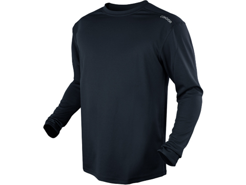 Condor Maxfort Long Sleeve Training Top (Color: Navy Blue / Small)