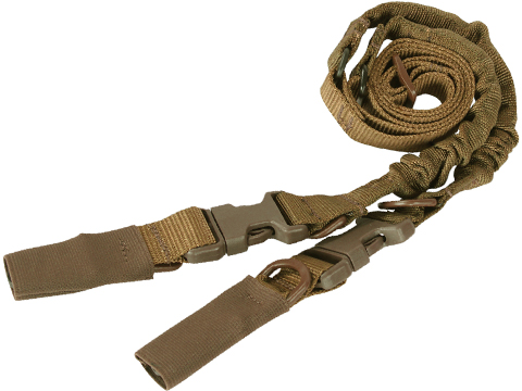 Condor CBT Two Point Tactical Bungee Sling (Color: Coyote Brown)